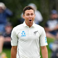 Watch: Trent Boult takes six wickets in 15 balls in a fiery spell of bowling against Sri Lanka