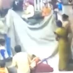 Watch: Mumbai police officers help a woman in labour by creating a makeshift delivery room