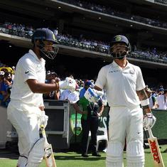 Motivation not to create history, it's just overcoming the challenge of winning in Australia: Kohli