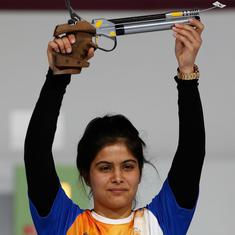 Shooting: Manu Bhaker wins junior and senior 10m air pistol gold at national selection trials
