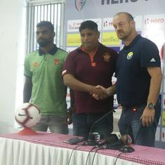 East Bengal, Mohun Bagan games will dictate where we end up, says Real Kashmir coach Robertson