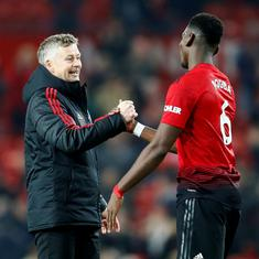 Premier League: Manchester United boss Solskjaer won't stop Paul Pogba from taking  penalties