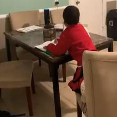 Watch: A mother caught her 6-year-old using Amazon's Alexa to cheat on his homework