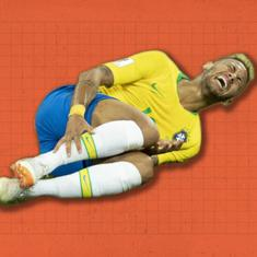 New Year smiles: When Neymar had us rolling in the aisles at the football World Cup
