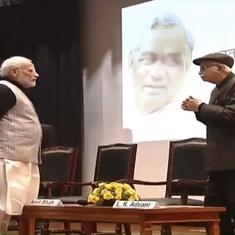 Fact check: As photo captures Advani with folded hands, was Modi really disrespectful to him?