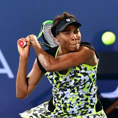 Venus Williams squanders one set lead to be knocked out of Wuhan Open in first round