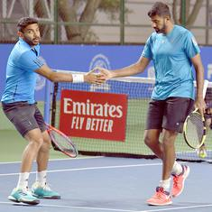 Maharashtra Open: Leander Paes and partner set up quarter-final clash with top seeds Bopanna-Sharan