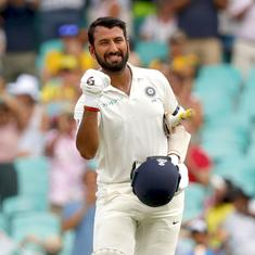 Ranji Trophy: Pujara's century puts Saurashtra in sight of victory but poor umpiring mars day four