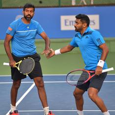 Maharashtra Open: Top seeds Bopanna-Sharan beat Paes and partner in Super Tiebreak thriller