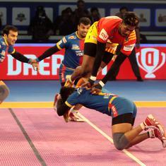 Pro Kabaddi: Gujarat Fortunegiants outplay UP Yoddha 38-31 to enter season six final