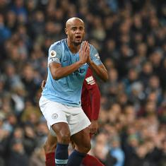 How on Earth is that not a red card? Klopp feels Kompany's tackle on Salah was dangerous