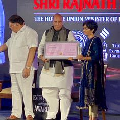 Scroll.in's Mridula Chari wins Ramnath Goenka award for on-the-spot reporting