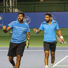Maharashtra Open: Top seeds Bopanna-Sharan enter first final together after another close tiebreak
