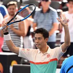 Brisbane International: Nishikori routs Chardy in straight sets to meet Medvedev in final