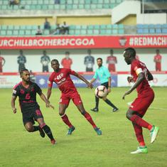 I-League: Wolfe scores a brace in Churchill Brothers' 2-0 win against Minerva Punjab