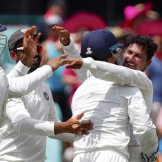Pressure on Ashwin? Twitter reacts to Kuldeep Yadav's impressive five-wicket haul in Sydney Test