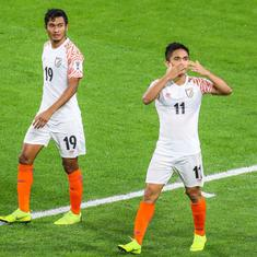 'It doesn't matter who scores': Chhetri downplays going past Messi's tally during Asian Cup