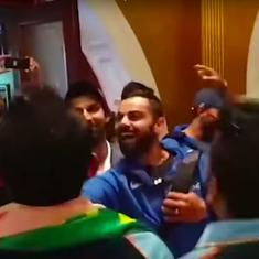 Watch: Virat Kohli and Co shake a leg with fans to celebrate India's Test series win in Australia