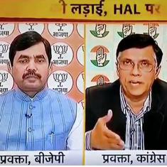 Watch BJP spokesperson Shahnawaz Hussain's ill-informed mistake over 'cash-in-hand' on TV news