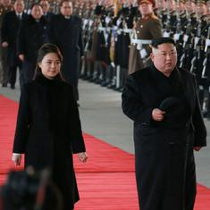 North Korea's Kim Jong-un arrives in Beijing for talks with Chinese President Xi Jinping