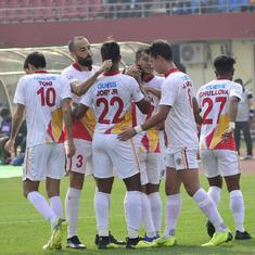 Football: Santos Colado's goal gives East Bengal 1-0 win over Indian Arrows in I-League