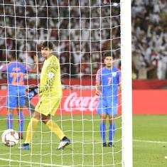 AFC Asian Cup: India left to rue missed chances as UAE emerge 2-0 winners to top Group A