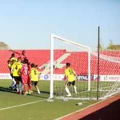 Real Kashmir go level on points with second-place Churchill after 0-0 draw with Aizawl