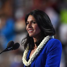 Democrat Tulsi Gabbard, first Hindu member of US Congress, says she will run for president in 2020