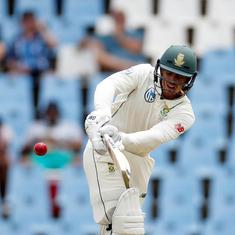 De Kock's century, Steyn's strikes put South Africa on course for series whitewash over Pakistan