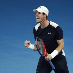 No hips, but an extra large heart: Twitter pays tribute to Andy Murray after Australian Open defeat