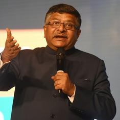 There's no economic slowdown, claims Ravi Shankar Prasad, cites healthy Bollywood boxoffice as proof
