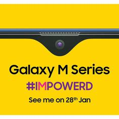 Samsung Mobile Galaxy M series India launch on January 28th; an Amazon exclusive