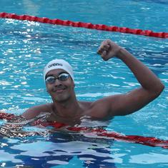It can be managed: Swimmer Srihari Nataraj optimistic about covering lost time after lockdown