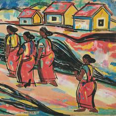 Artist FN Souza's early works reveal his intimate connection with Goa and its people