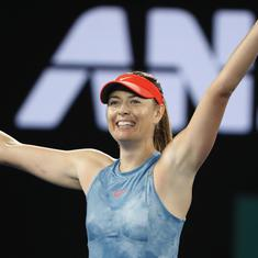 In beating Caroline Wozniacki, Maria Sharapova displayed all the qualities that once made her great