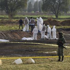 Mexico pipeline explosion: Toll rises to 73, President defends Army's failure to clear site