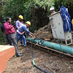 Meghalaya trapped miners: Another skeleton spotted by rescue team, efforts on to retrieve it