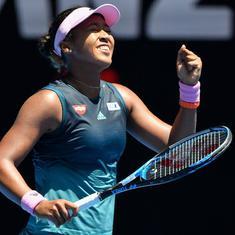 Tennis: Naomi Osaka defeats Hsieh Su-wei in Stuttgart Open opener
