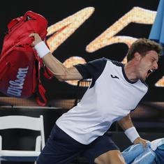 'That's not me': Carreno Busta regrets angry outburst after Australian Open exit
