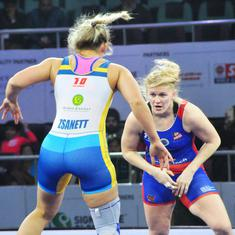 Pro Wrestling League: Epp Mae and Sarita help UP Dangal beat Mumbai Maharathi 4-3