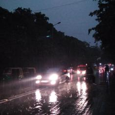 Delhi-NCR hit by heavy rain, hailstorm; Jammu-Srinagar national highway closed due to snowfall