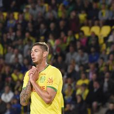 Premier League: Cardiff players afraid to fly after Sala disappearance, says captain Sol Bamba