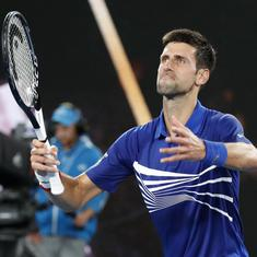 I mind it a little bit: Djokovic expresses concern over 'big brother' cameras at Australian Open