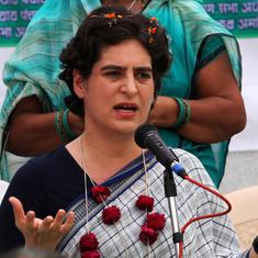 Sponsored events abroad do not bring investors, says Priyanka Gandhi on economic slowdown