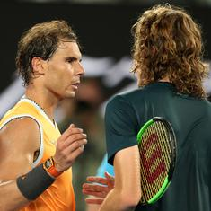 I've never seen a player have this talent: Tsitsipas heaps praise on Nadal after Aus Open thrashing