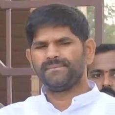 कर्नाटक : अपने साथी विधायक पर हमला करने वाले कांग्रेसी विधायक जेएन गणेश अब भी फ़रार