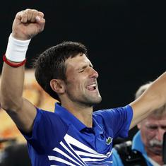 Dominant Djokovic decimates Pouille to set up blockbuster Australian Open final with Nadal