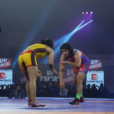 PWL: Sarita stuns MP Yodha's Pooja Dhanda to keep UP Dangal in semi-final race