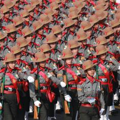 Republic Day: Women power, military might and Mahatma Gandhi's life on showcase at parade