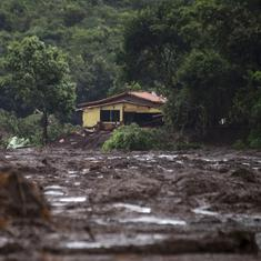 Brazil dam collapse: Toll rises to 40, 300 people still missing